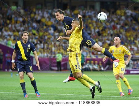 Uefa Euro 2012 Football Game Ukraine Vs Sweden