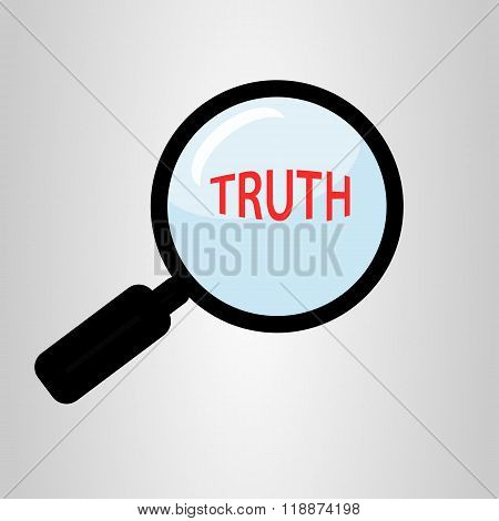 Find truth concept