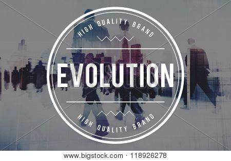 Evolution Development Better Growth Innovation Concept
