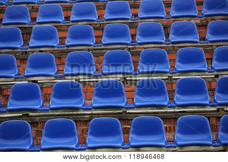 Chairs On The Stadium