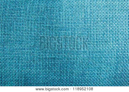 Pastel Background Of Blue Sack Textile Texture