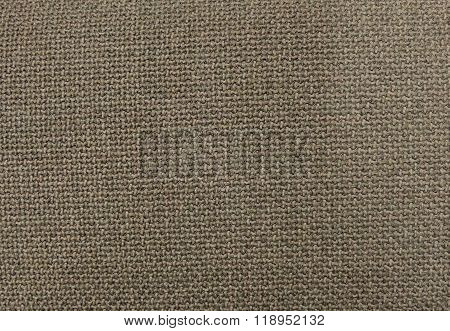 Close Up Background Pattern Of Brown Textile Texture
