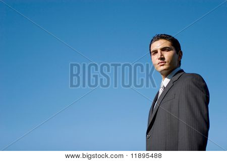 Portrait of a young successful businessman