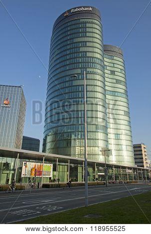 The new headquarters of Rabobank Nederland in Utrecht