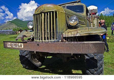 Old Russian Truck  Zil-157