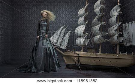 Fine art photo of an beautiful lady
