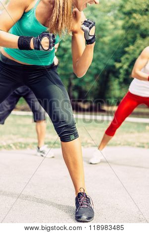 Taebo Training