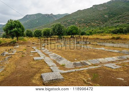 Archeological Remains In The Argolis