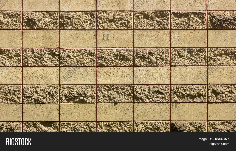 Decorative Brick Wall Concrete Image & Photo | Bigstock