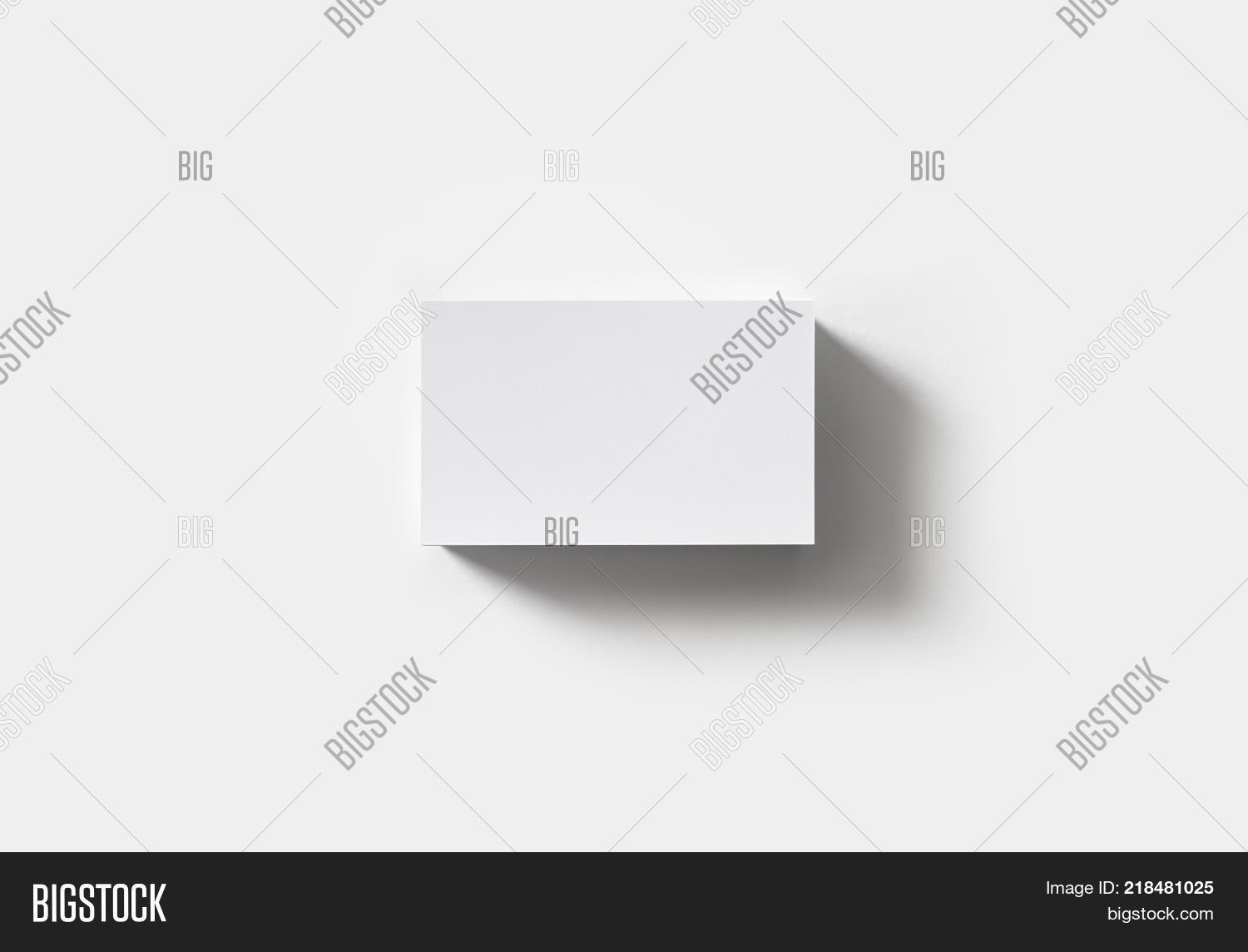 Stack Blank Business Image & Photo (Free Trial) | Bigstock