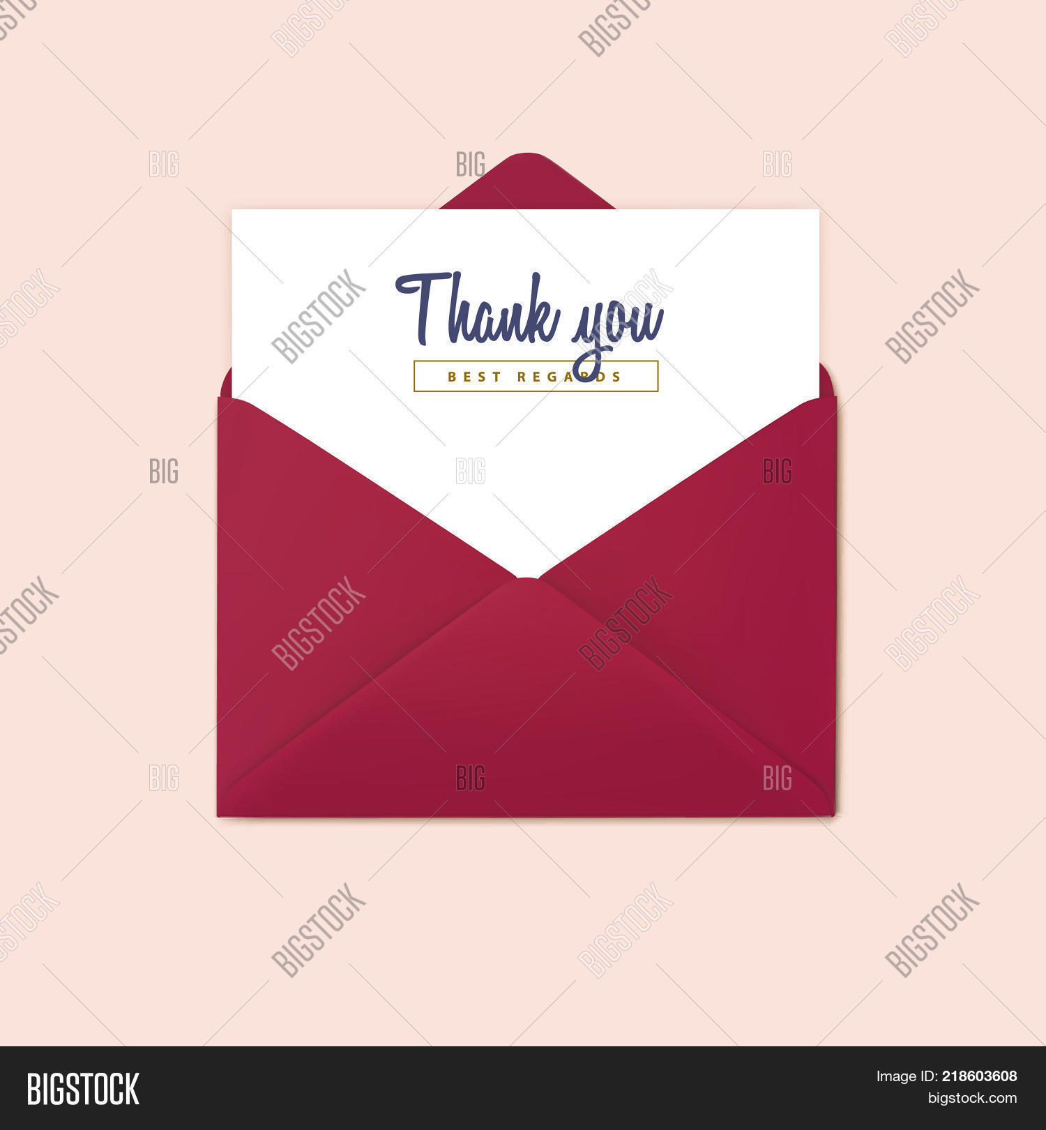 Red open envelope vector photo free trial bigstock red open envelope vector invitation design template stopboris Image collections