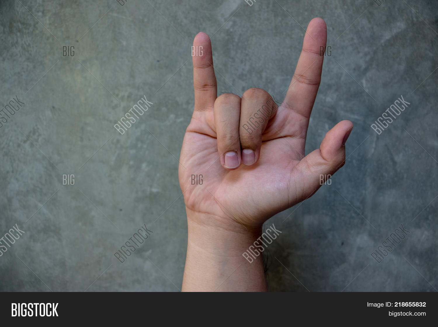 Ily Sign Letters L Y Image Photo Free Trial Bigstock