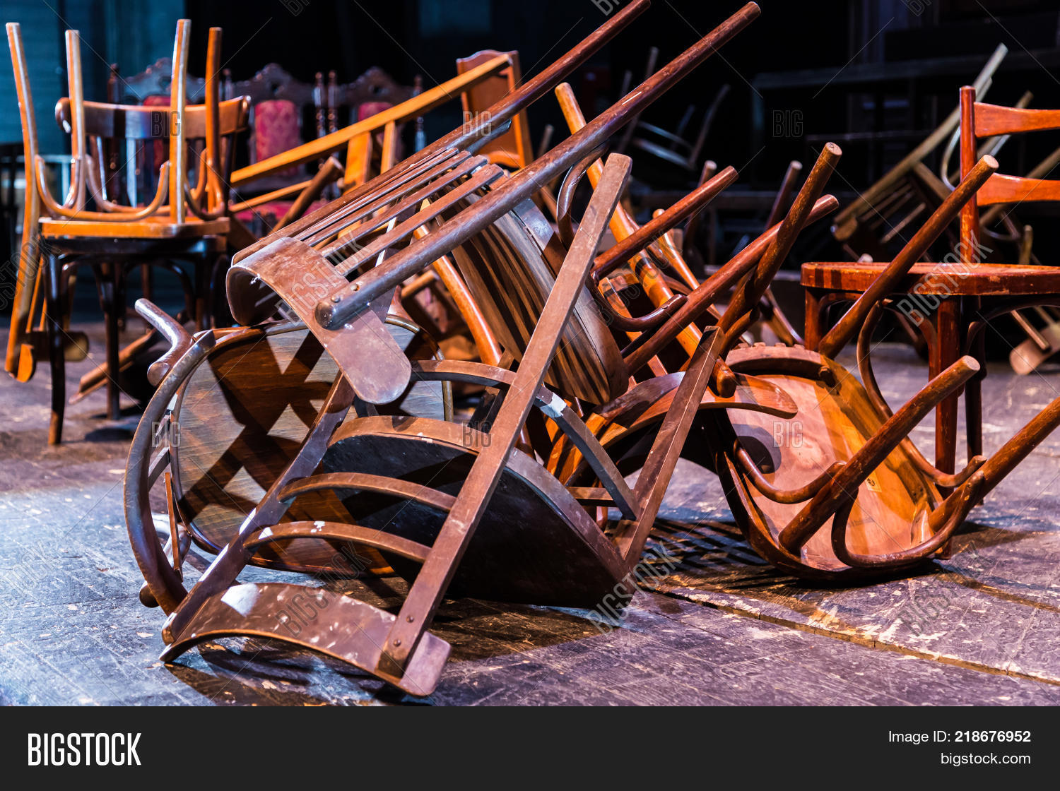 Old Broken Furniture Image Photo Free Trial Stock