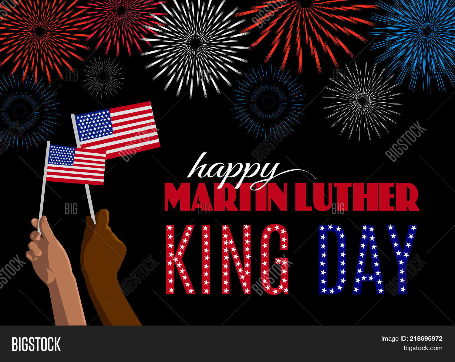 Happy Martin Luther Vector Photo Free Trial Bigstock