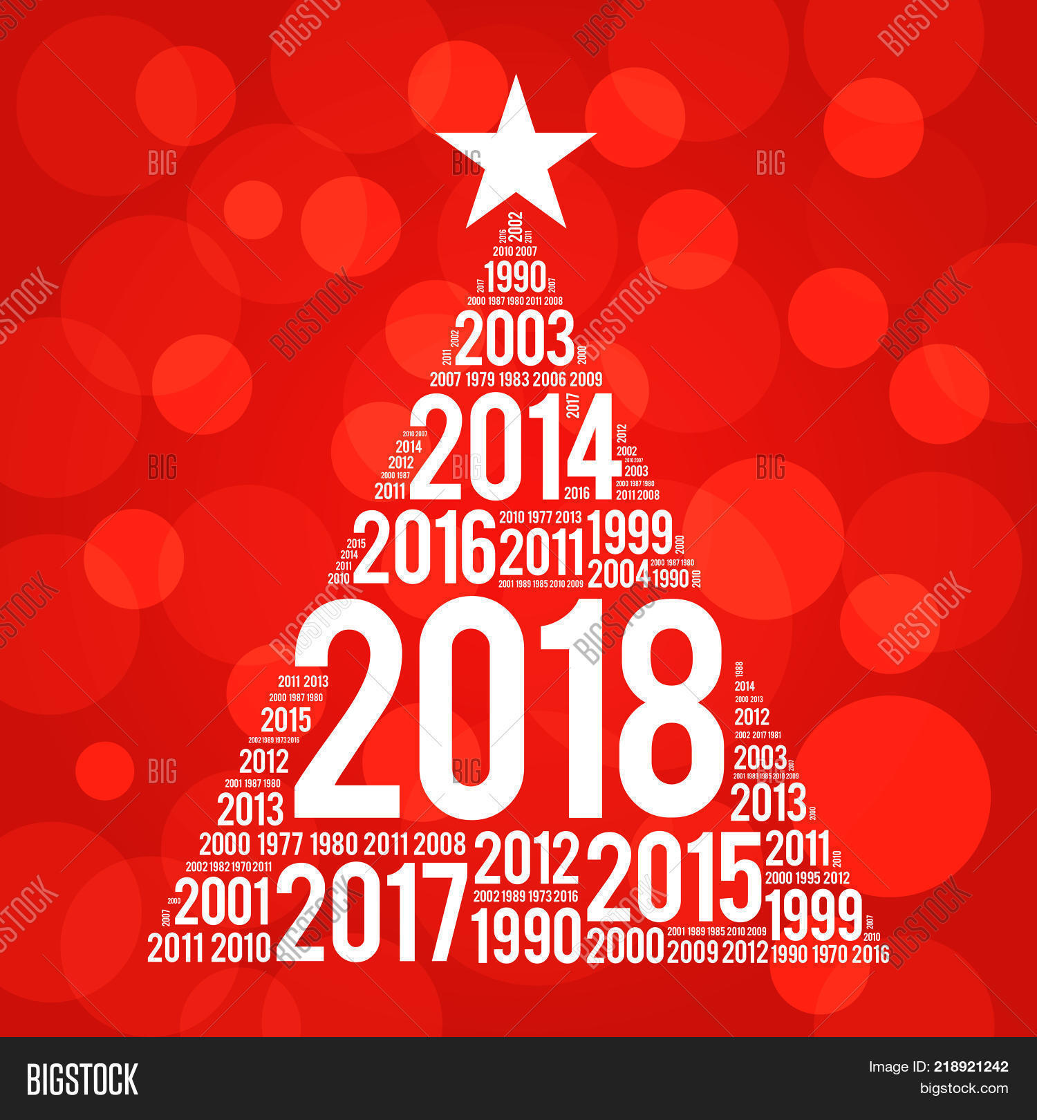 2018 Happy New Year Image Photo Free Trial Bigstock