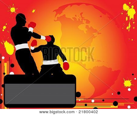 Advertising Of Boxing