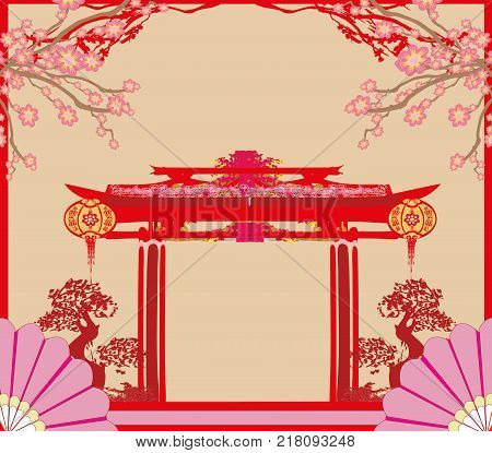 Mid-Autumn Festival for Chinese New Year , vector illustration