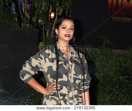 LOS ANGELES - DEC 11:  Lilly Singh at the