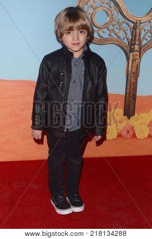 LOS ANGELES - DEC 12:  Jeremy Maguire at the Cirque du Soleil Presents LA Premiere Event Of
