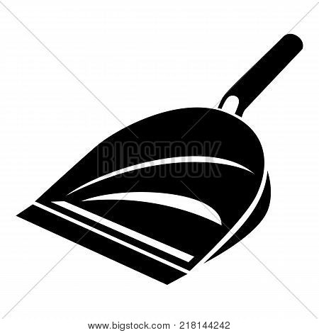 Scoop icon. Simple illustration of scoop vector icon for web