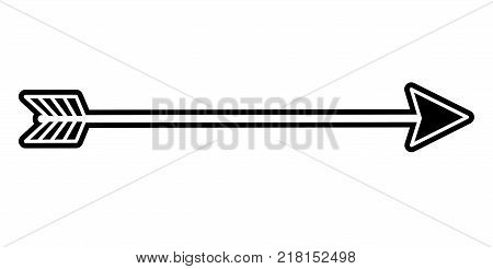 Arrow of direction pointer and orientation theme Isolated design Vector illustration