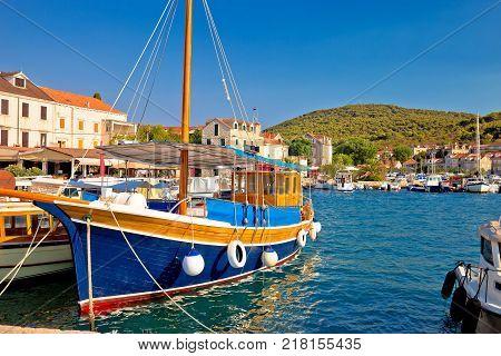 Colorful Harbor Of Zlarin Island