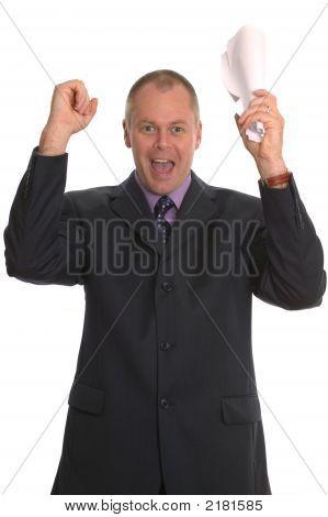 Happy Businessman