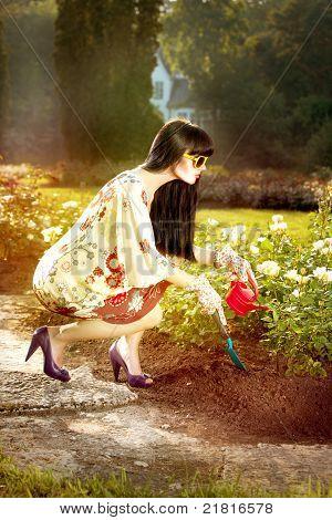 Fashion In The Garden