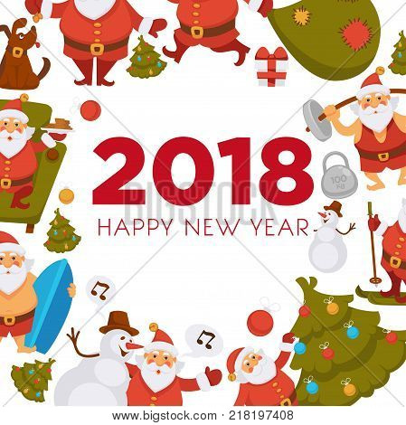 Happy New Year Vector & Photo (Free Trial) | Bigstock