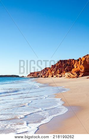 The shoreline at Cape Leveque in north Western Australia, near Broome.
