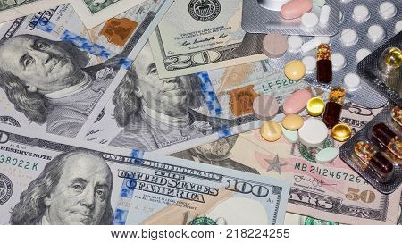 Banknotes And Drugs
