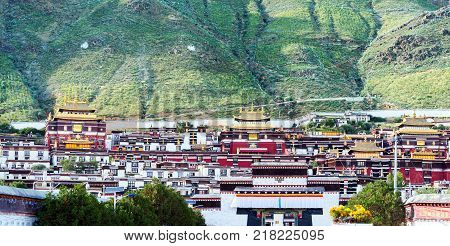 The iconic Potala Palace in Lhasa Tibet