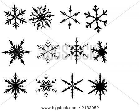 Snowflake Elements 1