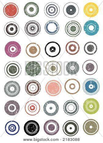35 Grunge Circles