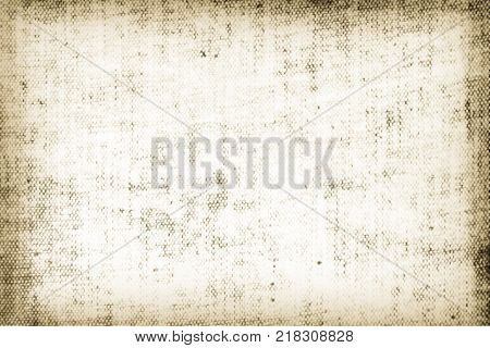 Old parchment canvas obsolete texture grunge background dirty linen fabric