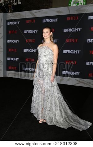 LOS ANGELES - DEC 13:  Lucy Fry at the