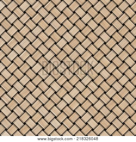 Wooden weave texture background. Abstract decorative wooden textured basket weaving background.