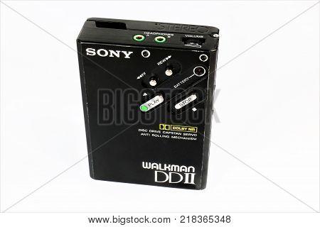 12/16/2017 - Aerzen/Germany - An Image of a Sony Walkman