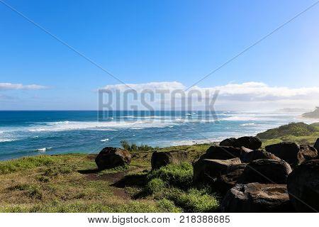 Kaena Point Trail At North Shores Of Waialua, Oahu, Hawaii