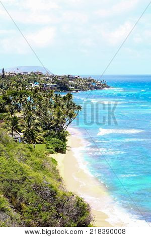 Kaena Point Trail At North Shores Of Waialua, Oahu, Hawaii