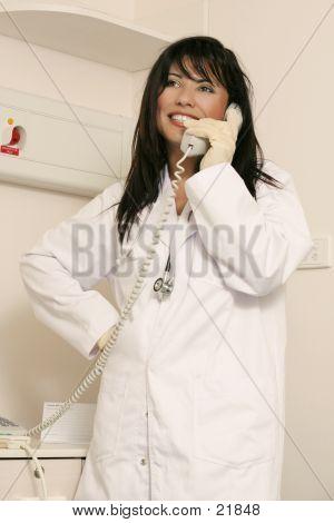 Medical Staffer On Duty
