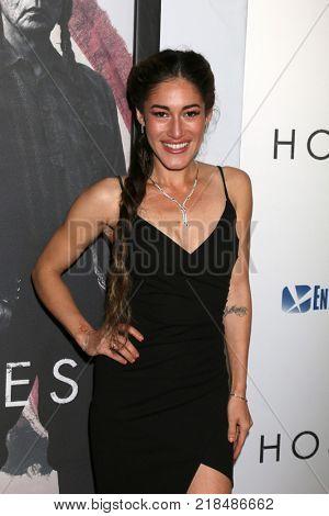 LOS ANGELES - DEC 14:  Q'orianka Kilcher at the