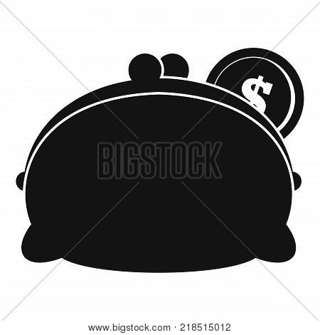 Purse woman icon. Simple illustration of purse woman vector icon for web