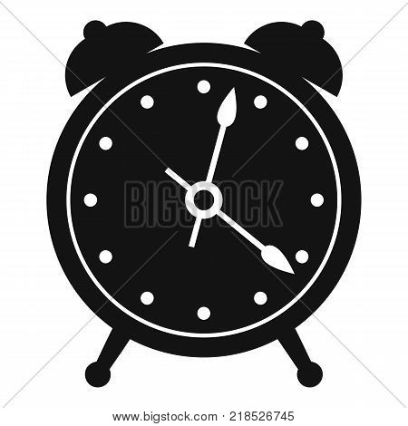 Alarm clock icon. Simple illustration of alarm clock vector icon for web