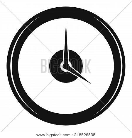 Clock deadline icon. Simple illustration of clock deadline vector icon for web