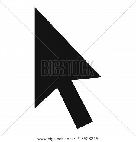 Cursor normal element icon. Simple illustration of cursor normal element vector icon for web