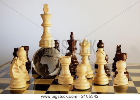 Globe And Chess