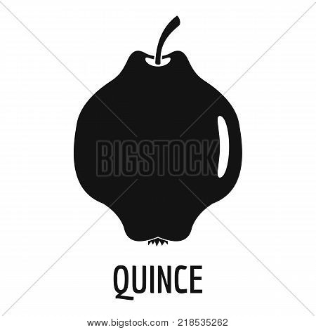 Quince icon. Simple illustration of quince vector icon for web