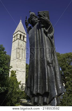 Gregory of Nin in the city of Split Croatia