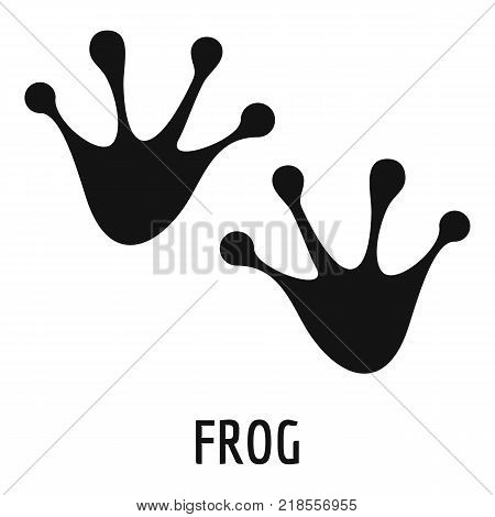 Frog step icon. Simple illustration of frog step vector icon for web